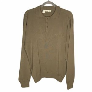 Giorgio Armani Le Collezioni Collared  Sweater